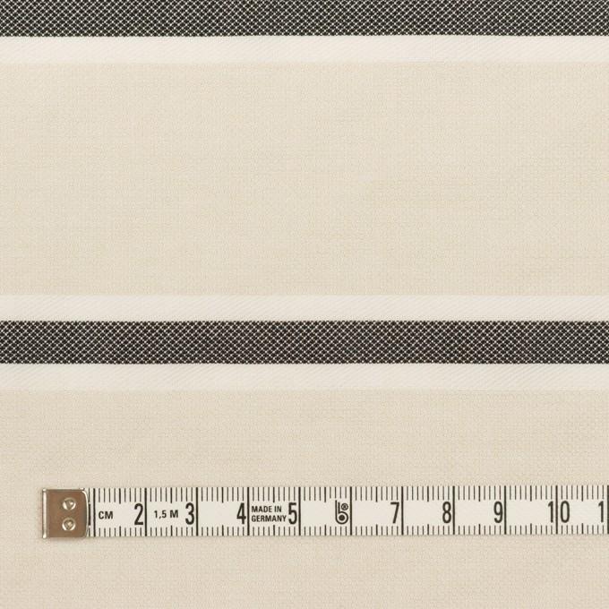 ポリエステル&コットン×ボーダー(アイボリー)×ジャガード_全2色 イメージ4