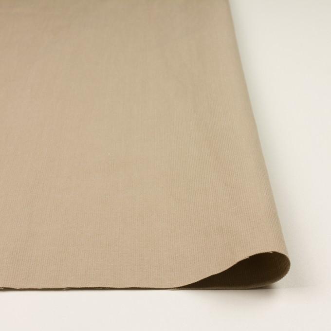 リネン&コットン×無地(グレイッシュベージュ)×かわり織_全2色 イメージ3