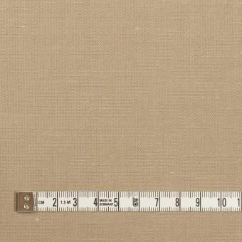 リネン&コットン×無地(グレイッシュベージュ)×かわり織_全2色 サムネイル4