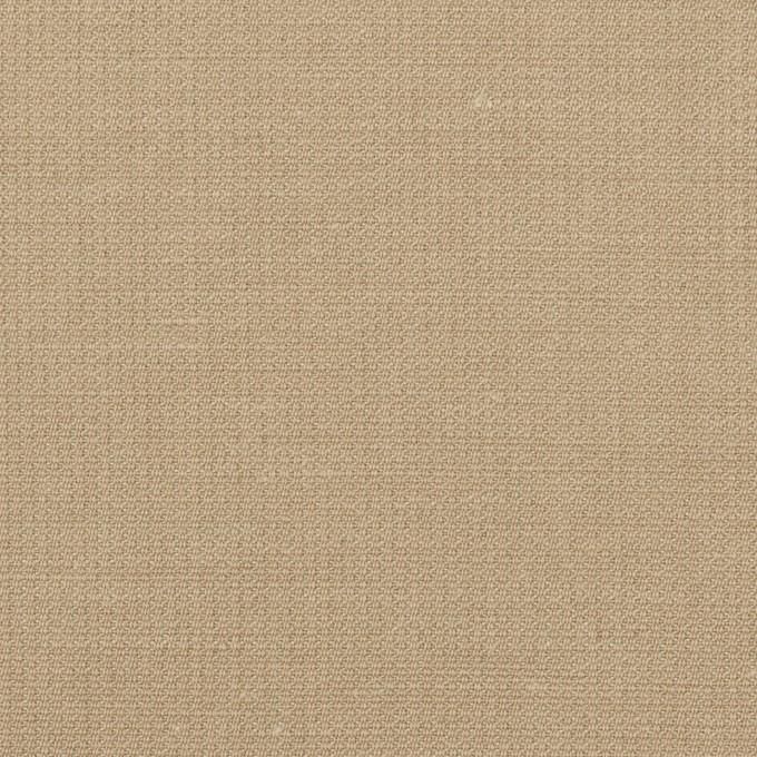 リネン&コットン×無地(グレイッシュベージュ)×かわり織_全2色 イメージ1