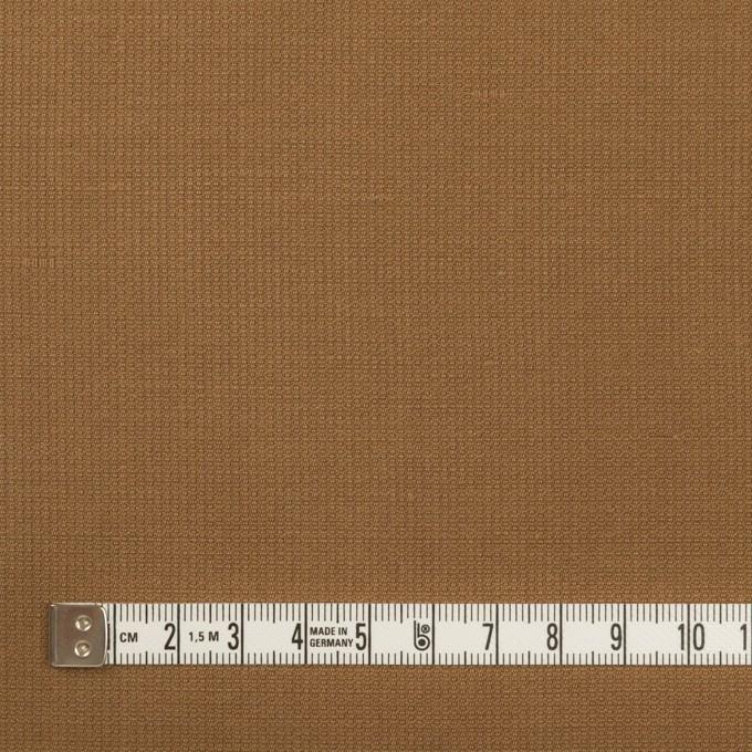 リネン&コットン×無地(キャラメル)×かわり織_全2色 イメージ4
