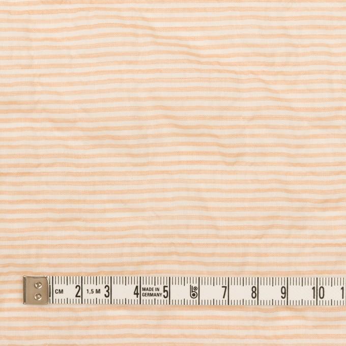 コットン&テンセル混×ボーダー(ネープルス)×ボイルシャーリング_全2色 イメージ4