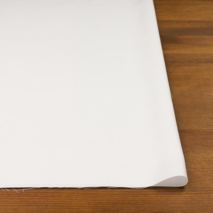 コットン×無地(ホワイト)×サージ イメージ3