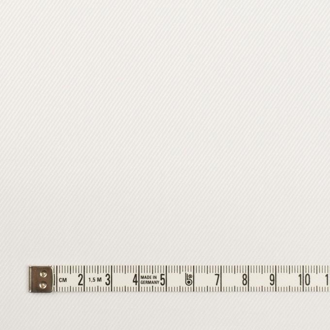 コットン×無地(ホワイト)×サージ イメージ4