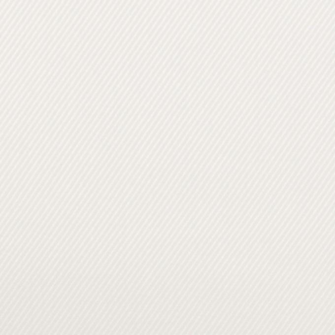コットン×無地(ホワイト)×サージ イメージ1
