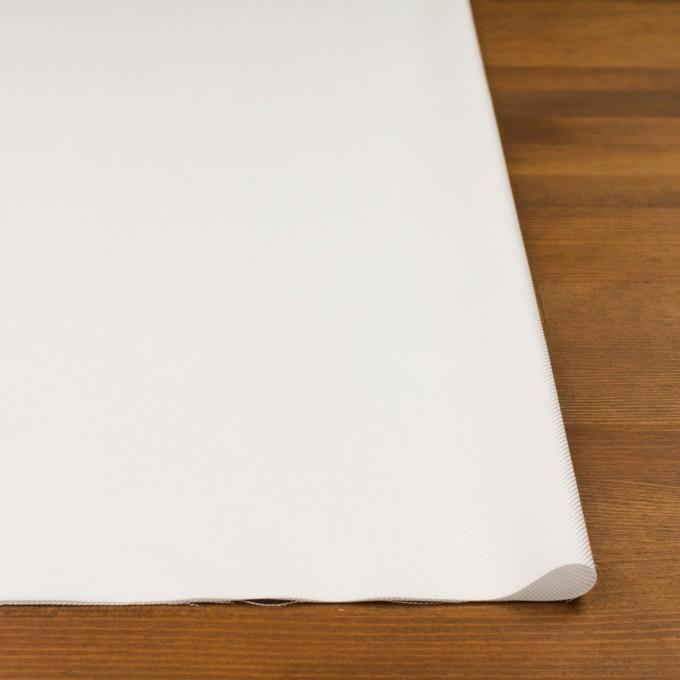 コットン×無地(オフホワイト)×サージ イメージ3