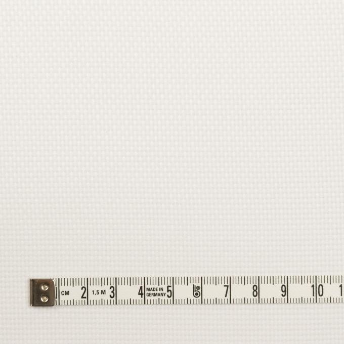 コットン×無地(オフホワイト)×斜子織 イメージ4