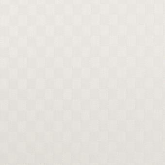 コットン&ポリエステル×無地(ホワイト)×ジャガード