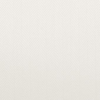 コットン×無地(オフホワイト)×ヘリンボーン