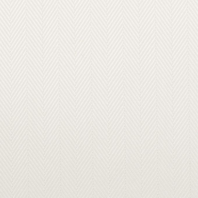コットン×無地(オフホワイト)×ヘリンボーン イメージ1