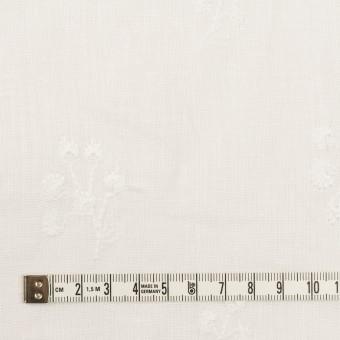 リネン×フラワー(ホワイト)×薄キャンバス刺繍 サムネイル4