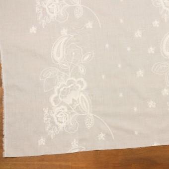 コットン×フラワー(エクリュ)×ボイル刺繍 サムネイル2