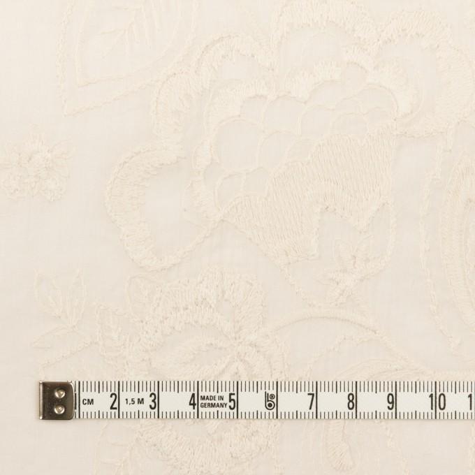 コットン×フラワー(エクリュ)×ボイル刺繍 イメージ4