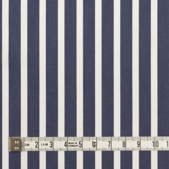 コットン&レーヨン×ストライプ(アッシュネイビー)×ローン イメージ4