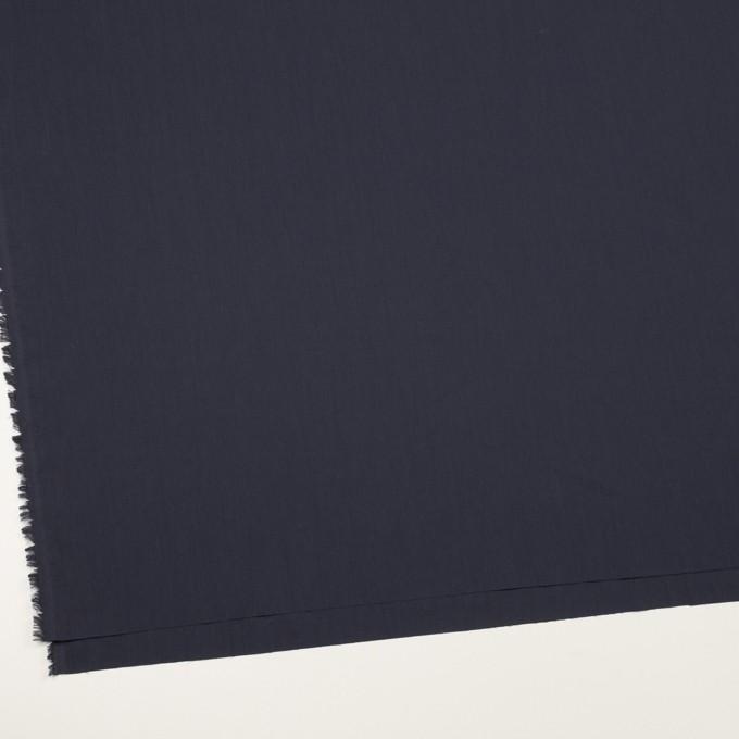 コットン&ポリアミド×無地(ネイビー)×ローン_イタリア製 イメージ2