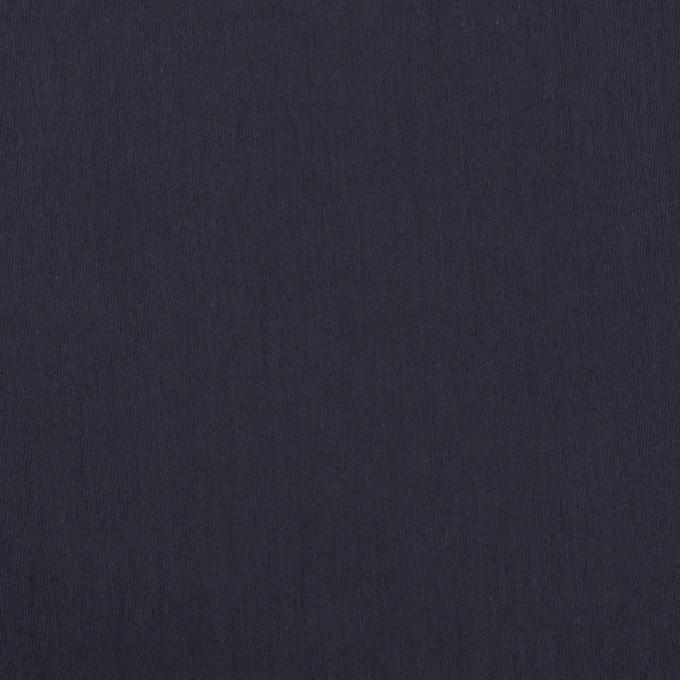 コットン&ポリアミド×無地(ネイビー)×ローン_イタリア製 イメージ1