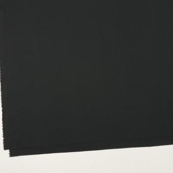 コットン&ポリウレタン×無地(ブラック)×ローンストレッチ サムネイル2
