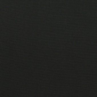 コットン&ポリウレタン×無地(ブラック)×ローンストレッチ サムネイル1