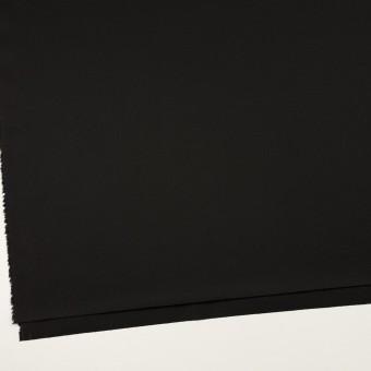 コットン&ポリウレタン×無地(ブラック)×サージストレッチ サムネイル2