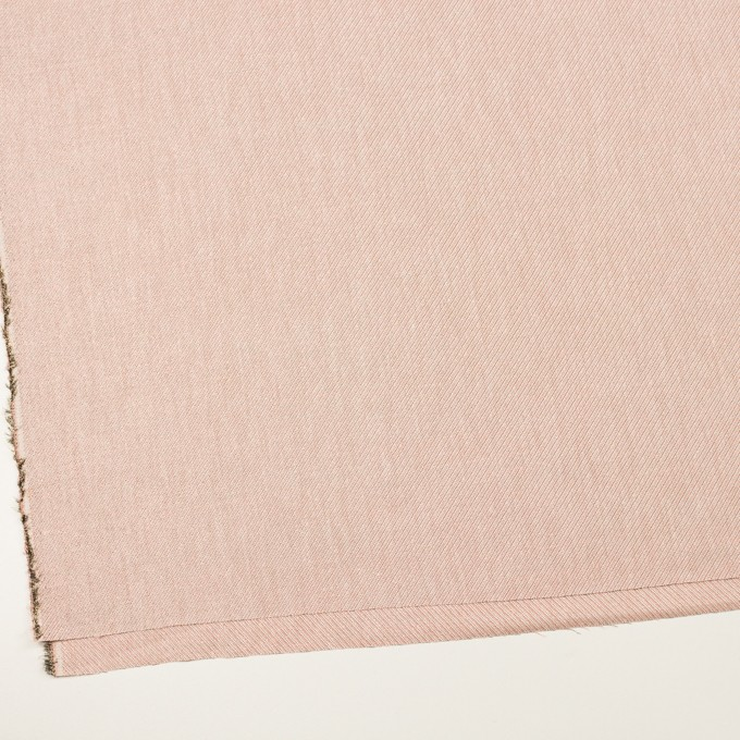 コットン&レーヨン混×ミックス(ピンクゴールド)×かわり織 イメージ2