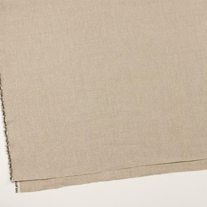 リネン&レーヨン混×ミックス(シャンパンゴールド)×かわり織_全2色 イメージ2