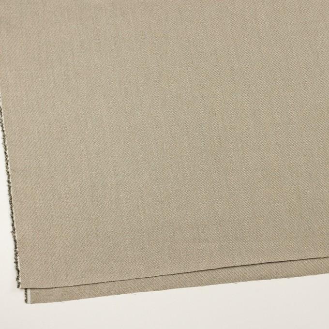 リネン&レーヨン混×ミックス(アッシュグレー)×かわり織_全2色 イメージ2