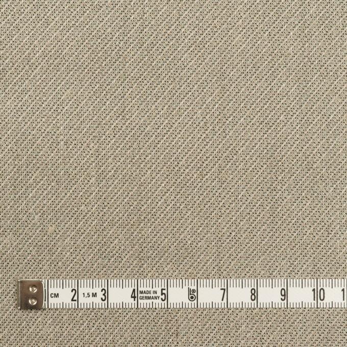 リネン&レーヨン混×ミックス(アッシュグレー)×かわり織_全2色 イメージ4
