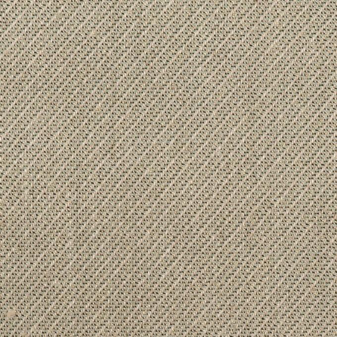 リネン&レーヨン混×ミックス(アッシュグレー)×かわり織_全2色 イメージ1