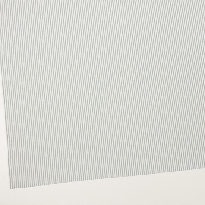 コットン&シルク×ストライプ(フォッグ)×ローン イメージ2