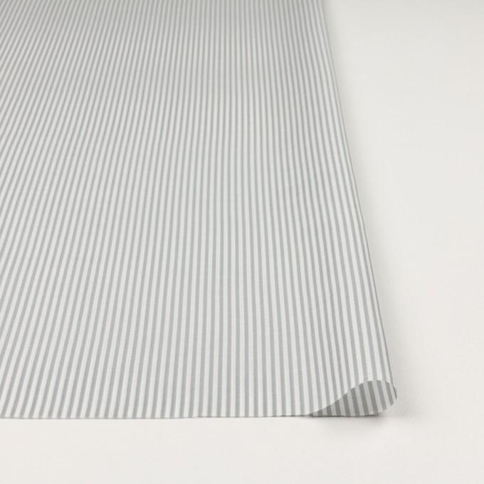 コットン&シルク×ストライプ(フォッグ)×ローン イメージ3