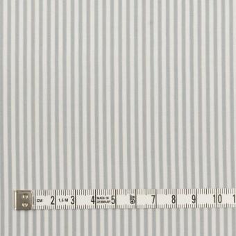 コットン&シルク×ストライプ(フォッグ)×ローン サムネイル4