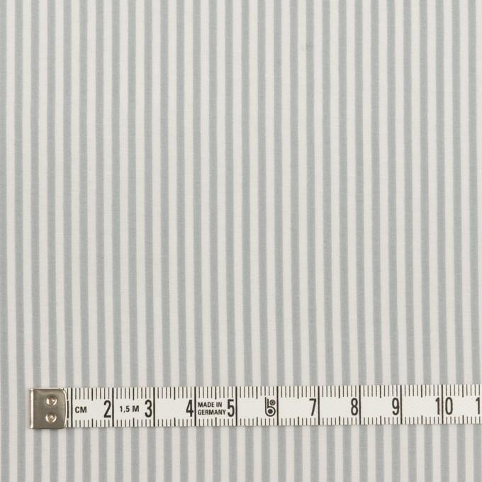 コットン&シルク×ストライプ(フォッグ)×ローン イメージ4