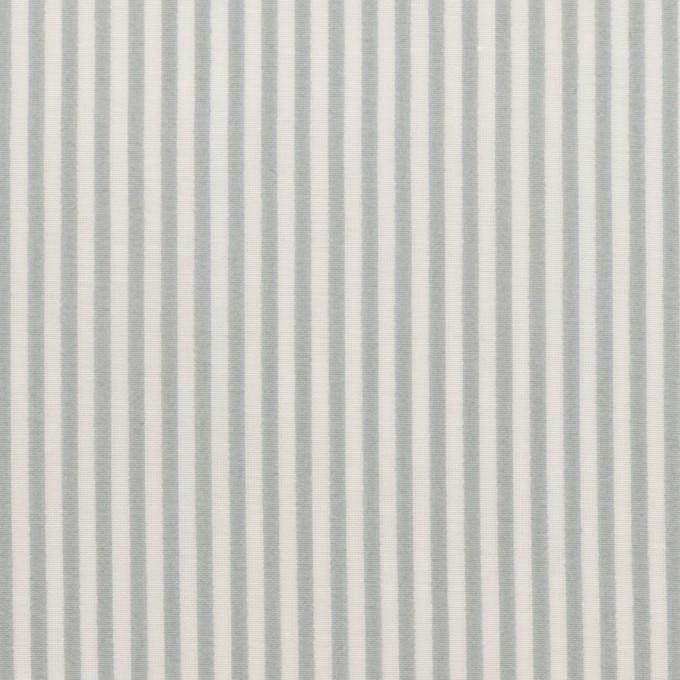 コットン&シルク×ストライプ(フォッグ)×ローン イメージ1