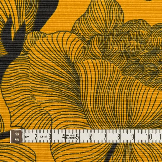 ナイロン×フラワー(パンプキン&ブラック)×タッサーポプリン イメージ4