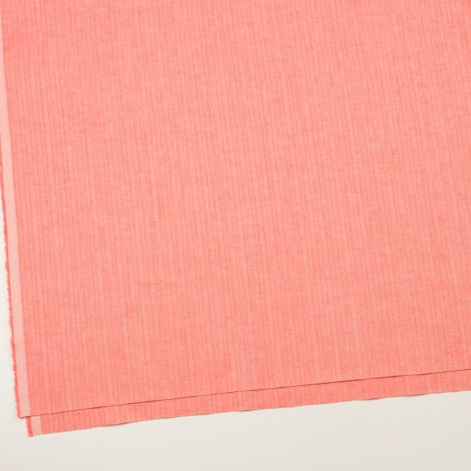 レーヨン&コットン混×無地(ピーチ)×かわり織ストレッチ イメージ2