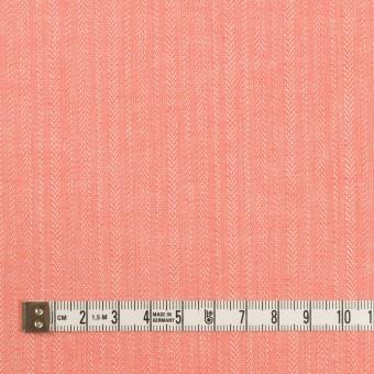レーヨン&コットン混×無地(ピーチ)×かわり織ストレッチ サムネイル4