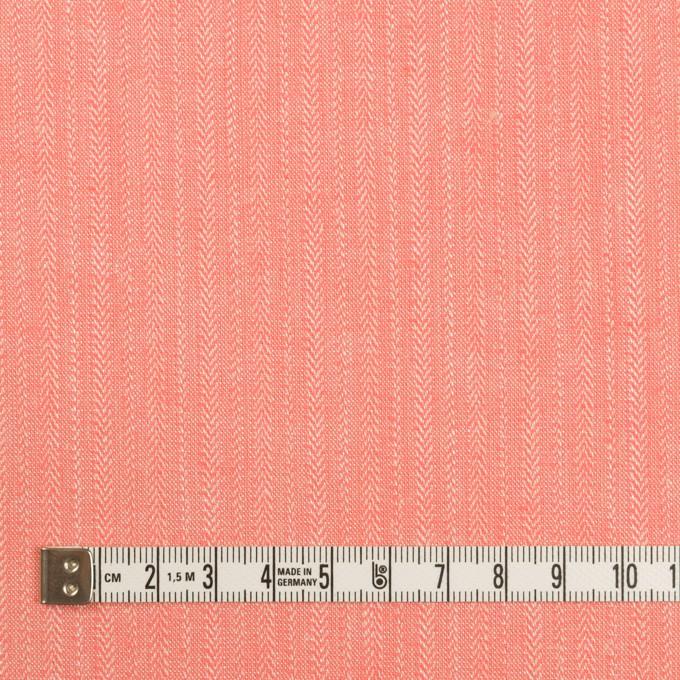 レーヨン&コットン混×無地(ピーチ)×かわり織ストレッチ イメージ4