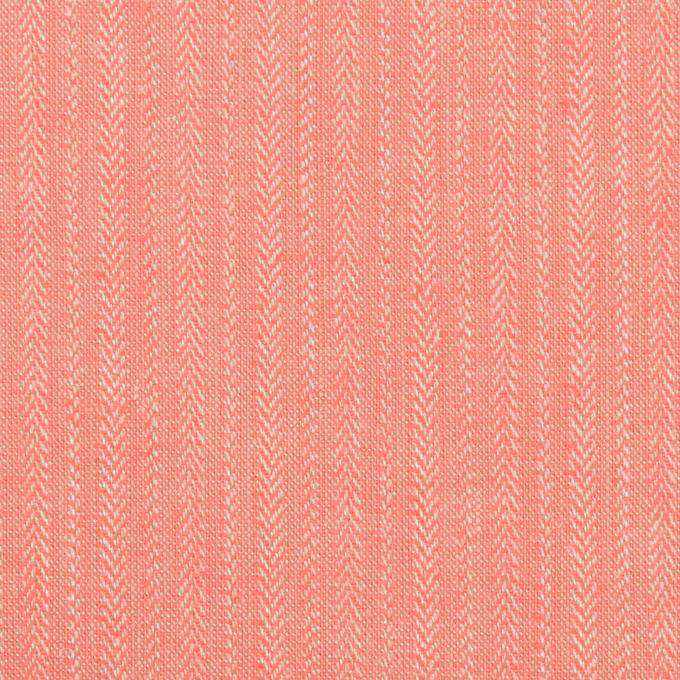 レーヨン&コットン混×無地(ピーチ)×かわり織ストレッチ イメージ1