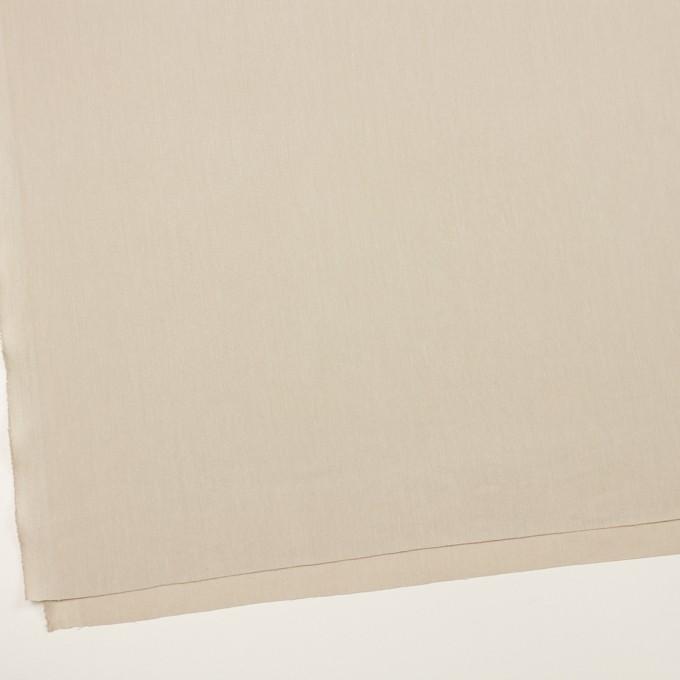 テンセル&ナイロン混×無地(グレイッシュベージュ)×ヘリンボーン・ストレッチ イメージ2