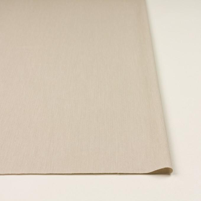 テンセル&ナイロン混×無地(グレイッシュベージュ)×ヘリンボーン・ストレッチ イメージ3