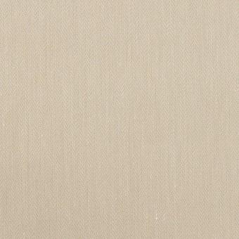 テンセル&ナイロン混×無地(グレイッシュベージュ)×ヘリンボーン・ストレッチ