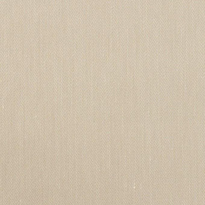 テンセル&ナイロン混×無地(グレイッシュベージュ)×ヘリンボーン・ストレッチ イメージ1