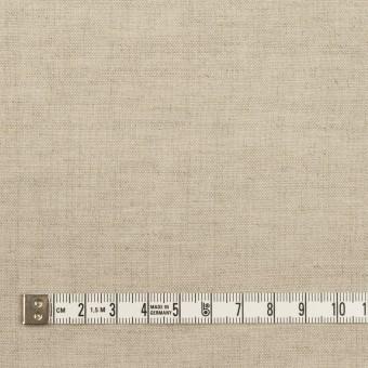 リネン&ウール×無地(グレイッシュベージュ)×薄キャンバス サムネイル4