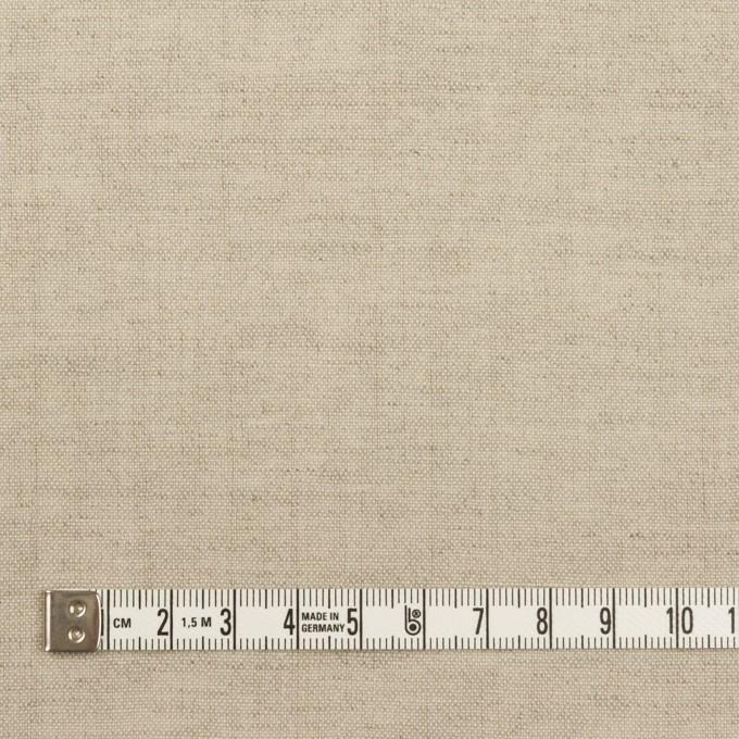 リネン&ウール×無地(グレイッシュベージュ)×薄キャンバス イメージ4