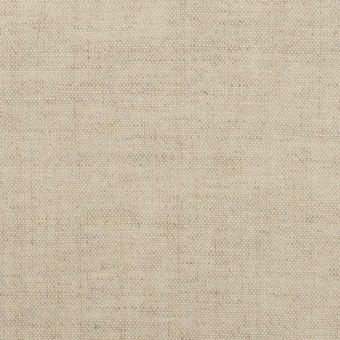 リネン&ウール×無地(グレイッシュベージュ)×薄キャンバス イメージ1