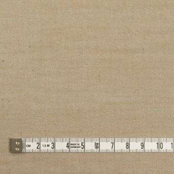 リネン&ナイロン混×無地(カーキベージュ)×サージストレッチ サムネイル4