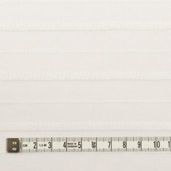コットン&レーヨン×ボーダー(オフホワイト)×ボイルジャガード サムネイル4