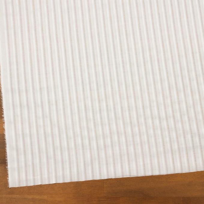コットン×ストライプ(オフホワイト)×ボイルジャガード イメージ2