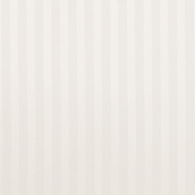 コットン×ストライプ(オフホワイト)×ブロードジャガード イメージ1