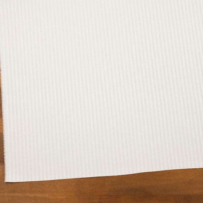 【150cmカット】コットン×ストライプ(オフホワイト)×ブロードジャガード イメージ2
